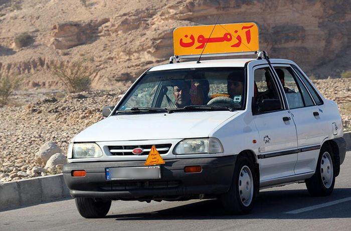 پلیس هشدار داد: رانندگی با برگه آموزشگاه رانندگی ممنوع است